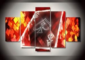 Framed-Printed-A-font-b-poker-b-font-font-b-picture-b-font-Painting-wall-decor